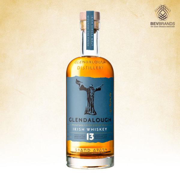Glendalough Distillery Whiskey Singapore bevbrands singapore golden clover singapore Glendalough 13 Year Old Single Malt Mizunara Oak Finish Irish Whiskey-sq org bb