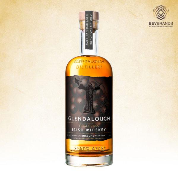 bevbrands singapore golden clover singapore Glendalough Distillery singapore Glendalough Single Cask Grand Cru Burgundy Finish Irish Whiskey-sq org bb