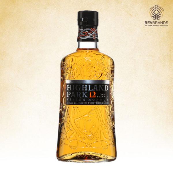 bevbrands singapore golden clover singapore Highland Park Whisky singapore Highland Park 12 Year Old Viking Honour Scotch Whisky-sq org bb