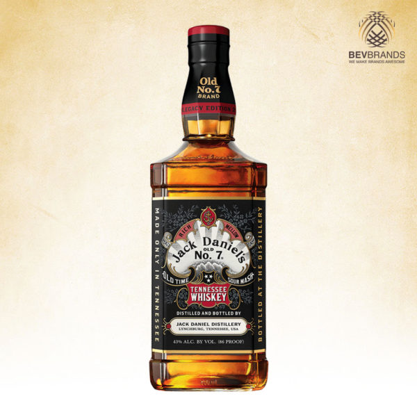 bevbrands singapore golden clover singapore Jack Daniel's singaporeJack Daniel's Old No. 7 Legacy Edition 2 Tennessee Whiskey-sq org bb