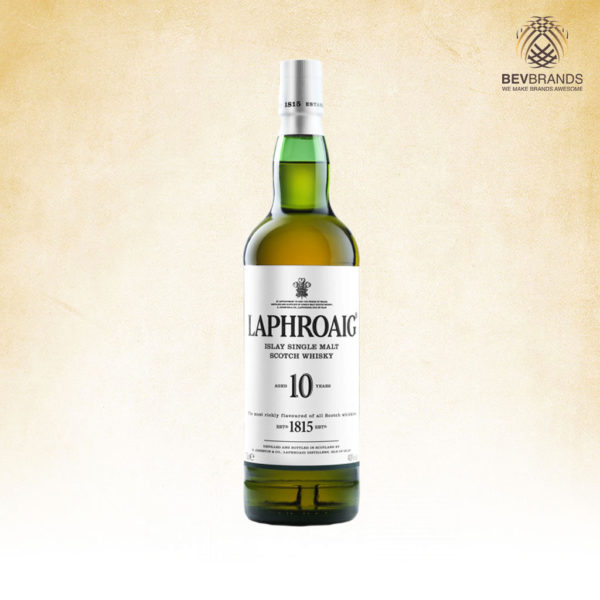Laphroaig Whisky Singapore bevbrands singapore golden clover singapore Laphroaig 10 Year Old Islay Single Malt Scotch Whisky-sq org bb