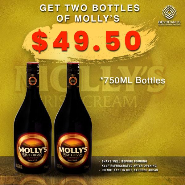 bevbrands singapore golden clover singapore Molly's Irish Cream Singapore Promo-Molly's Irish Cream-2 for 1-02-v3