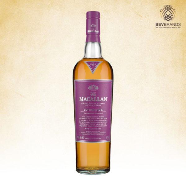 bevbrands singapore golden clover singapore The Macallan Whisky Singapore The Macallan Edition No. 5 Single Malt Scotch Whisky-sq org bb