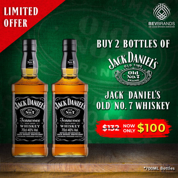 bevbrands singapore golden clover singapore Jack Daniel's Whiskey Singapore Promo-Jack Daniel's-GC-jkdnls02-v04 $100