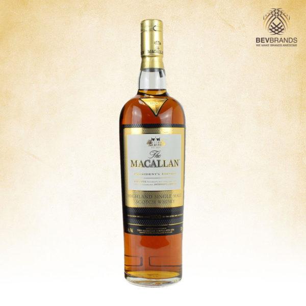 bevbrands singapore golden clover singapore The Macallan Whisky Singapore The Macallan President's Edition LIMITED EDITION Single Malt Scotch Whisky-sq org bb