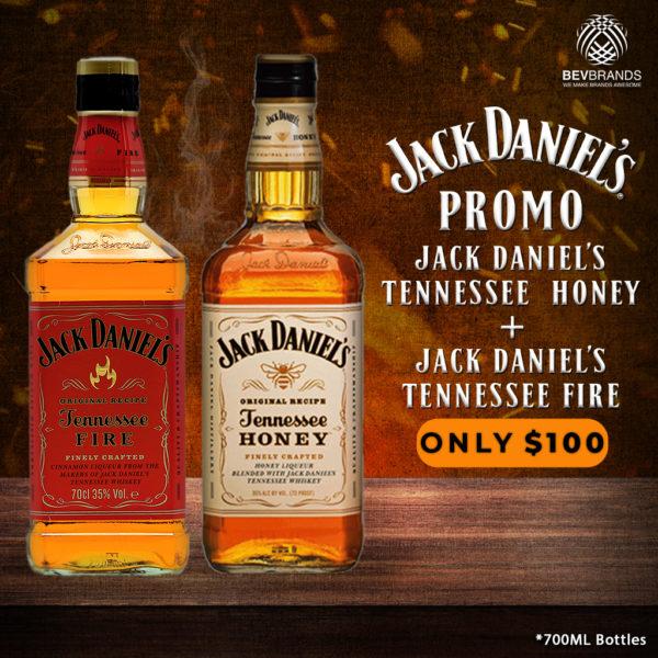 bevbrands singapore golden clover singapore Jack Daniel's Whiskey singapore 2 jack daniels fire + honey 100