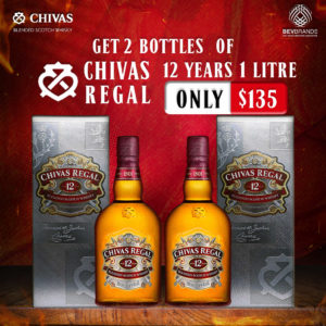 bevbrands singapore golden clover singapore Chivas Regal Singapore Chivas Regal 12 Year Old-Promo 02-2 bottles $135-01 sq1024