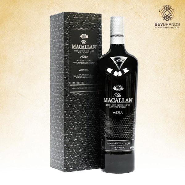 bevbrands singapore golden clover singapore The Macallan Aera 700mL 40% ABV Royal Black Highland Single Malt Scotch Whisky-sq org bb