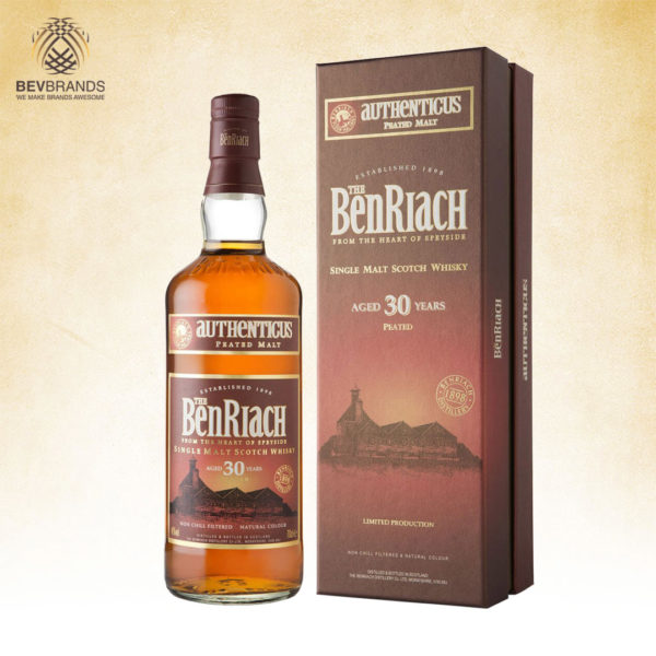 bevbrands singapore golden clover singapore BenRiach Distillery Singapore Benriach 30 Year Old Authentic v2-sq org bb
