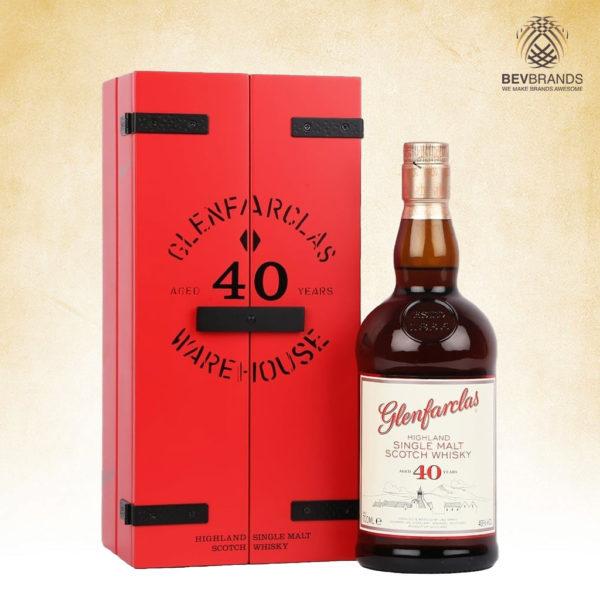 bevbrands singapore golden clover singapore Glenfarclas Whiskey singapore Glenfarclas 40 Year Old Box-sq org bb